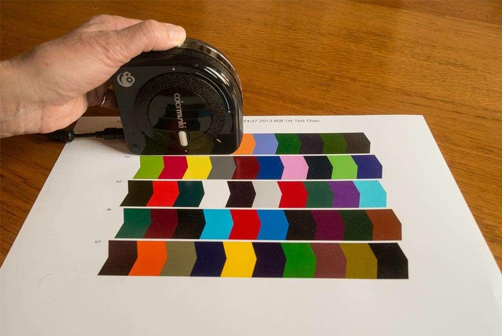 Zelf eenvoudig een printerprofiel maken met de Colormunki van X-Rite.