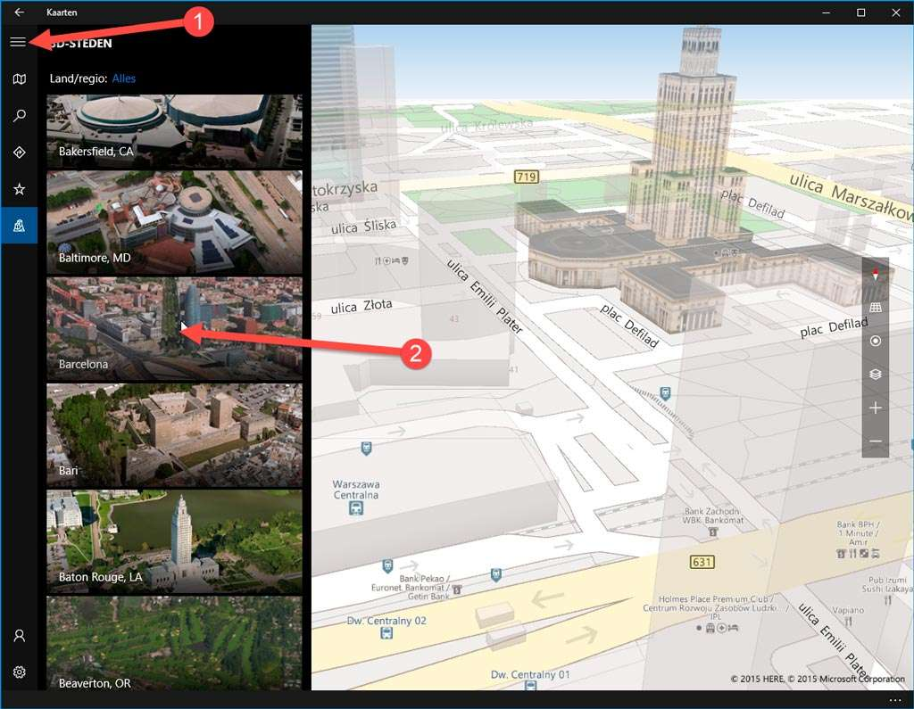 Op weg naar een virtuele stedentrip.