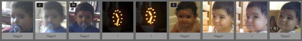 Het gebeurt soms dat Lightroom een gezicht ziet waar er geen is, zoals hier bij de wijzerplaten van een klok.