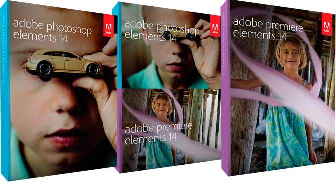 Nieuwe versies van Photoshop Elements en Premiere Elements