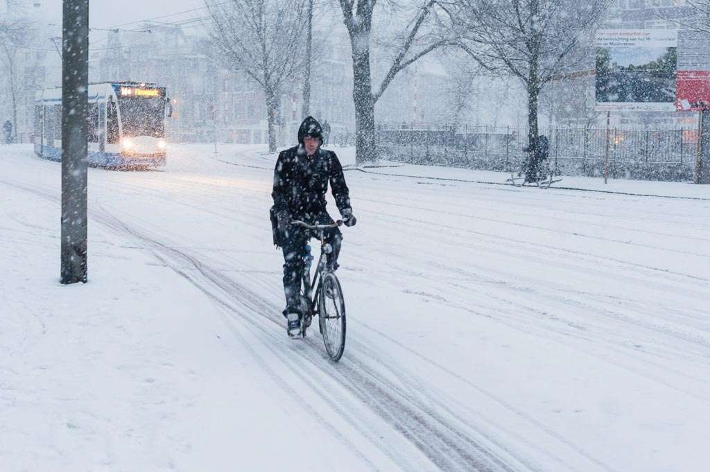 Een sneeuwfoto kan prima in sRGB bewerkt worden.