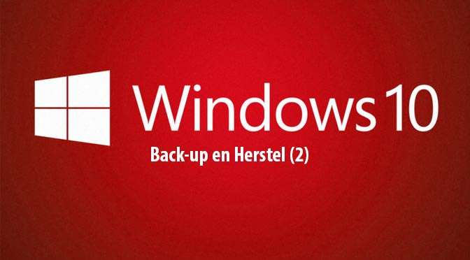 Windows 10: Back-up en herstel (2)