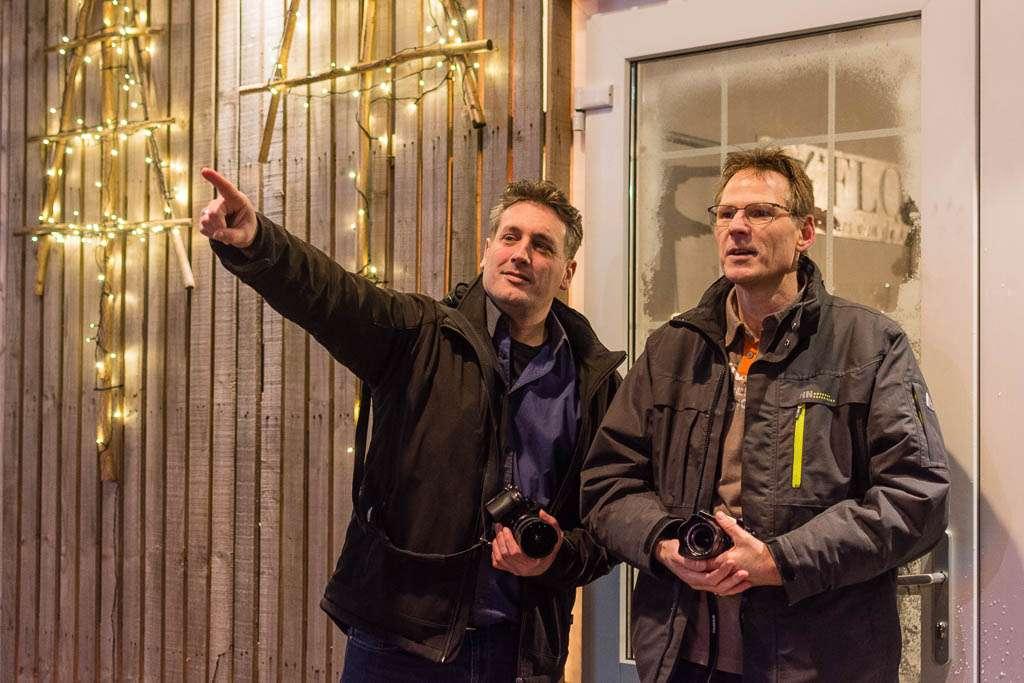 Links Jeroen Horlings, rechts Kees Krick.