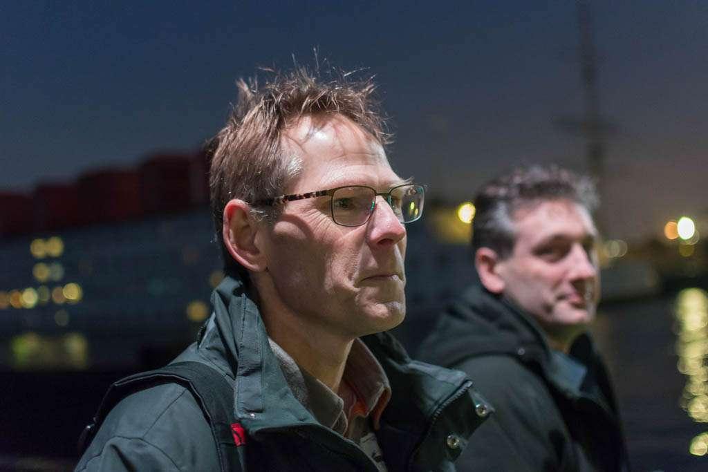 Links Kees Krick, rechts Jeroen Horlings.