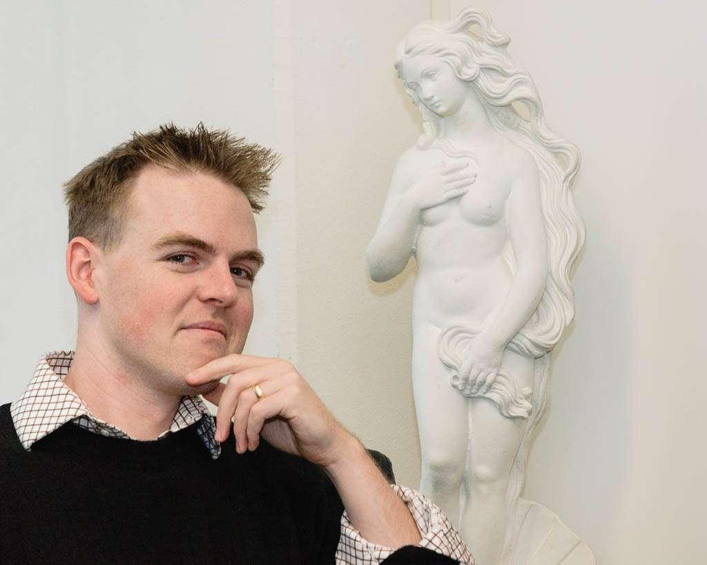 John Nack in het kantoor van Adobe Benelux, 16 december 2005.