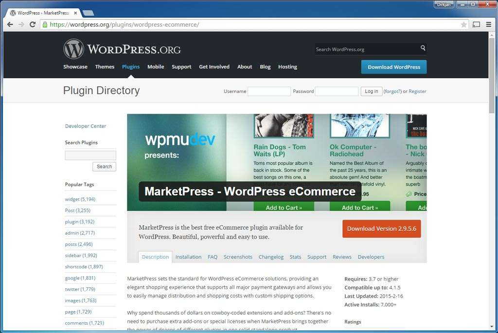 Vooral wie een netwerk van webwinkels wil opzetten, kan MarketPress overwegen. De andere mogelijkheden blijven achter bij WooCommerce.