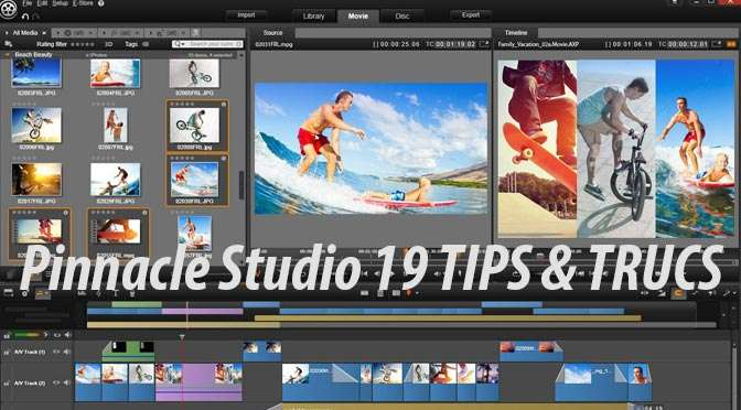 Tips voor Pinnacle Studio 19: Rimpelovergangen