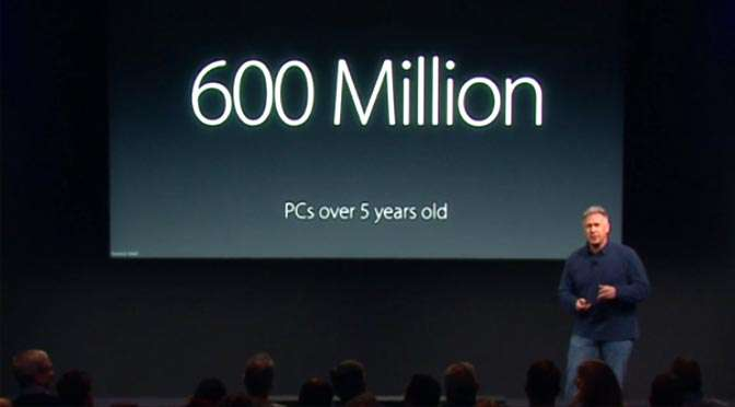 Phil Schiller van Apple… Sad, really sad!