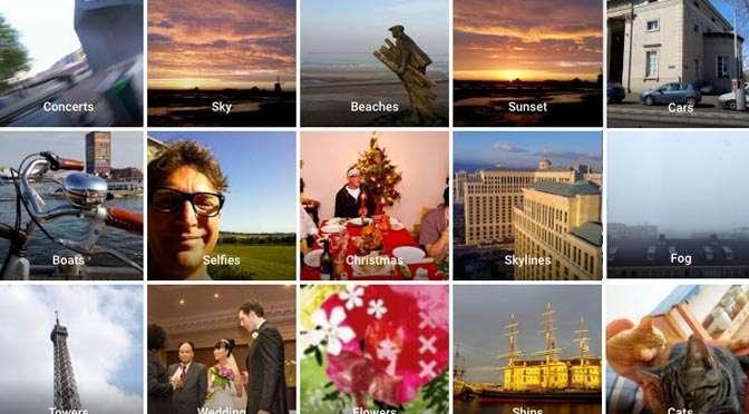 Google Foto's: Mensen, Plaatsen en Dingen aanpassen