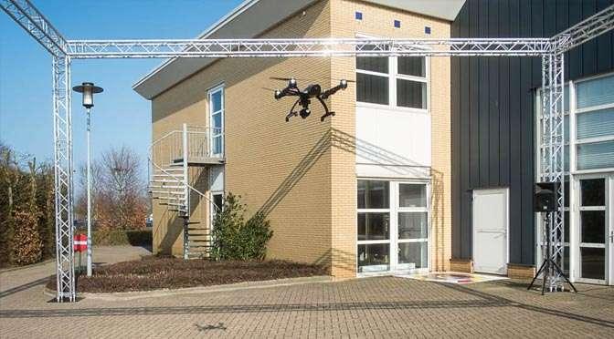 Wiebe de Jager over Dronefotografie op Professional Imaging 2016