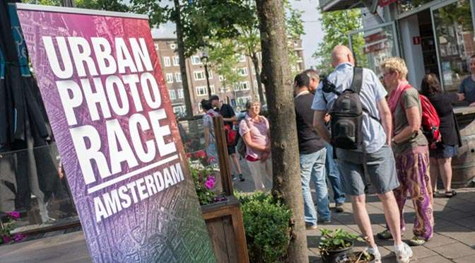Leer onbekend Amsterdam kennen met de Urban Photo Race