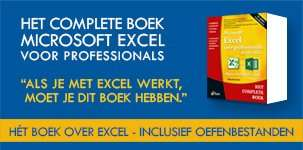 HCB Excel voor professionals 3e editie