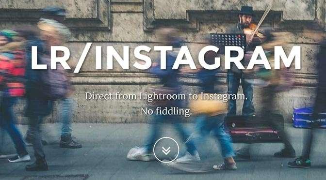 Van Lightroom Desktop naar Instagram