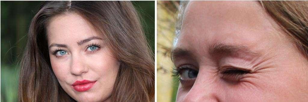 Bij een big close-up wordt op het hoofd ingezoomd en bij de extreme variant op één detail, bijvoorbeeld het oog.