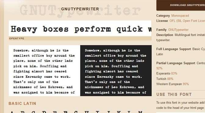 Lettertypen vinden en installeren