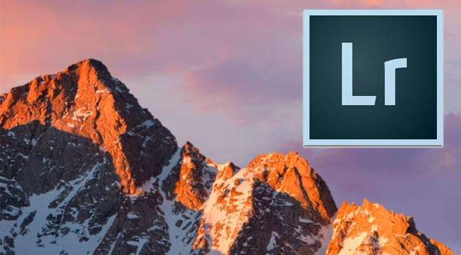 Updates van Lightroom: let op met macOS Sierra!