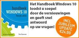 Handboek Windows 10 2e editie jubileumupdate