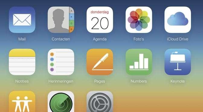 Werken met iCloud
