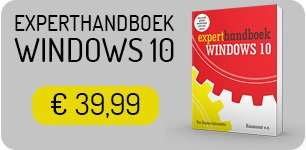 Experthandboek Windows 10
