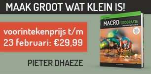 Handboek Macrofotografie VIP Pieter Dhaeze