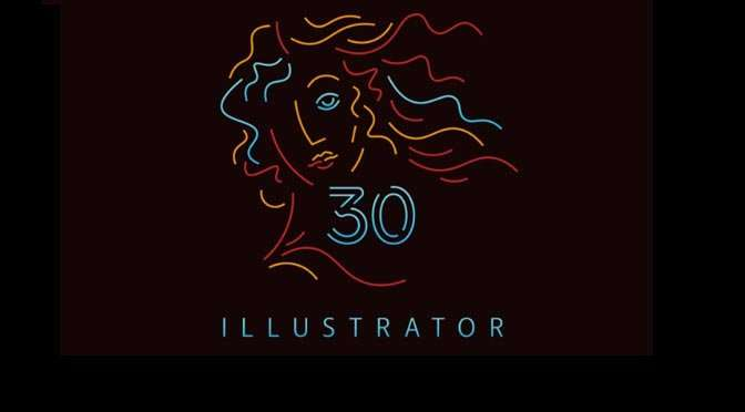 Hartelijk gefeliciteerd, Adobe Illustrator
