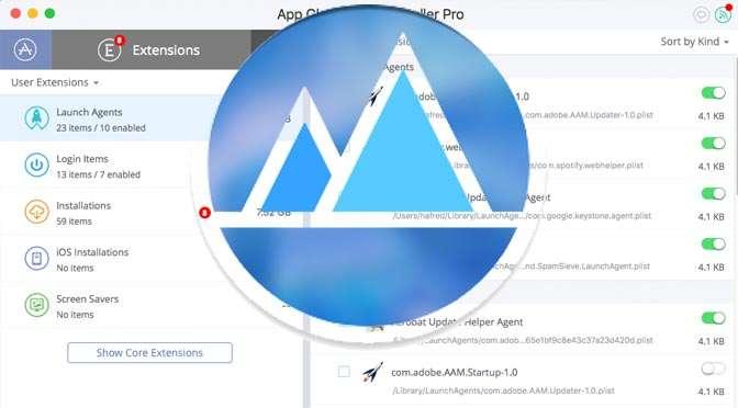 Opstartprocessen bij macOS opschonen met App Cleaner