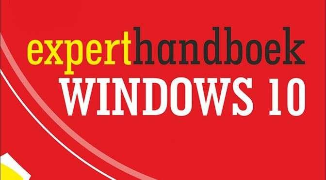 omslag experthandboek windows 10