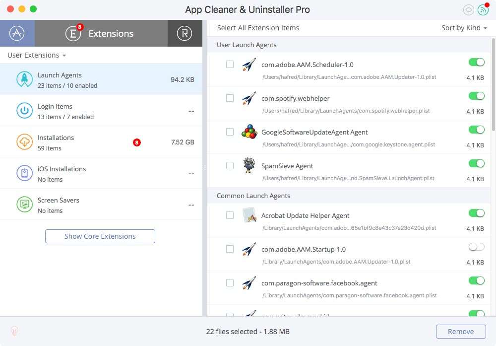 app cleaner-launch-agents