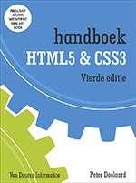 Handboek HTML5 en CSS3
