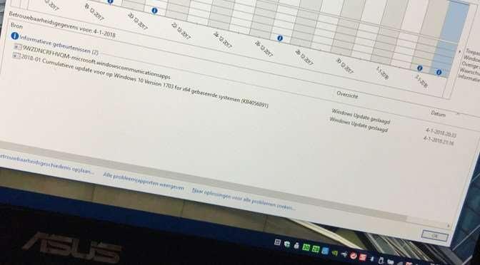 Microsoft rolt urgente patch tegen Spectre en Meltdown uit