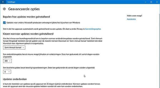 Dek je in tegen de komende Windows upgrade