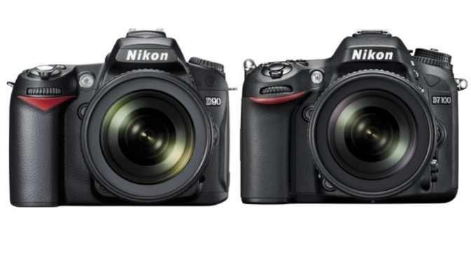 Maakt een Nikon D7100 scherpere foto's dan een D90?