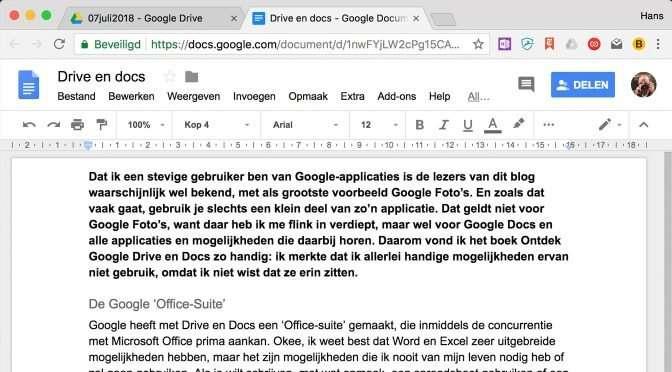 Snel aan de slag met Ontdek Google Docs en Drive