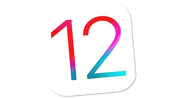 iOS 12 blijkt zeer stabiel en razendsnel (bron afbeelding: https://commons.wikimedia.org/wiki/File:IOS_12_logo.svg)