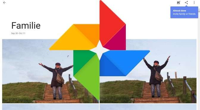 Live Albums in Google Foto's