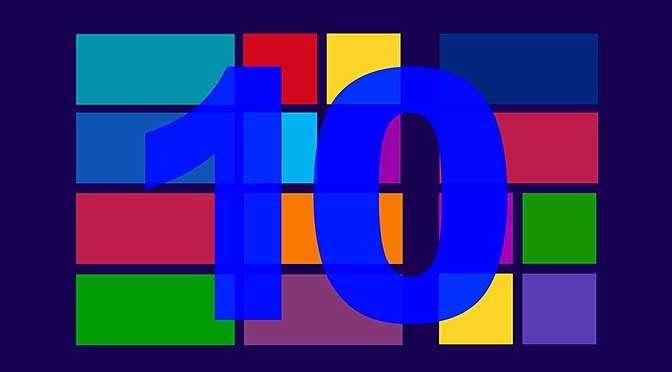 Microsoft is weer begonnen met het uitrollen van de gewraakte 1809-upgrade voor Windiows 10 (bron afbeelding: https://pixabay.com/nl/achtergrond-windows-10-tien-720224/)