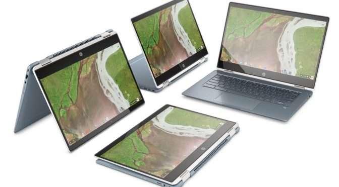 Een nieuwe laptop? Waarom geen Chromebook?