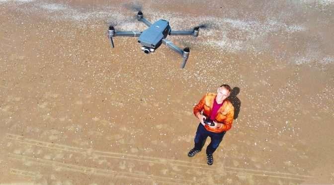 Dronevideo's: bronmateriaal filmen