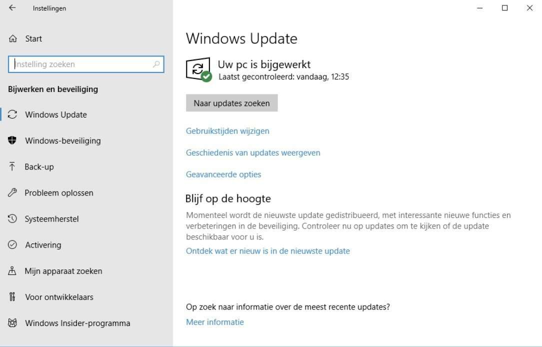 Staat er wel of geen update voor Windows 10 klaar? Het blijft een spannende vraag, zeker voor Home-gebruikers