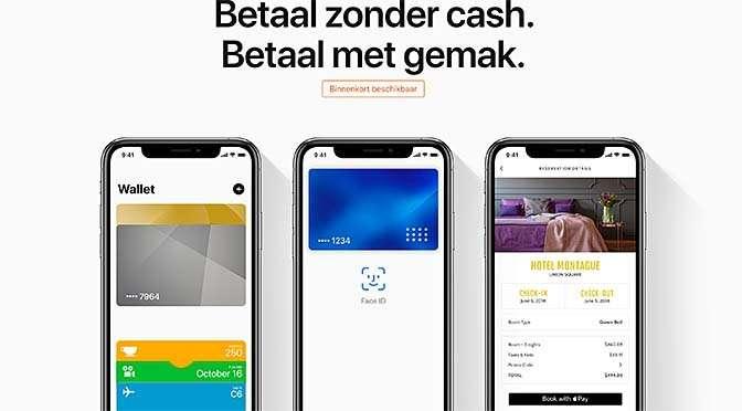 Apple Pay (bijna) bij ING