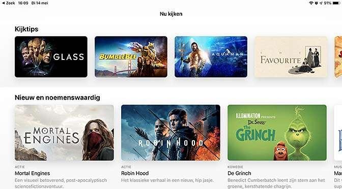 iOS 12.3 met Apple TV
