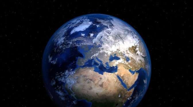 Belangrijk nieuws: de aarde is rond !