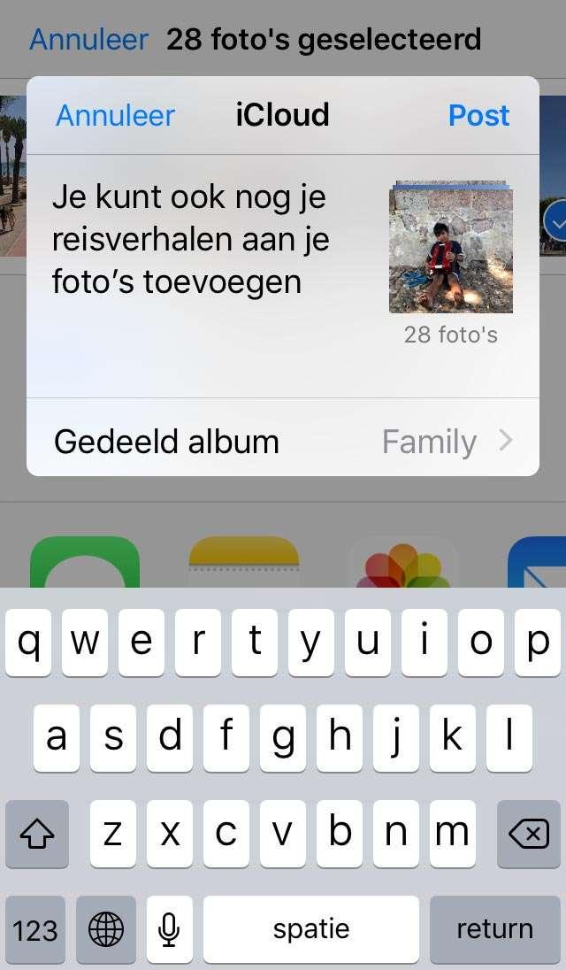 Op vakantie met Apple Foto's