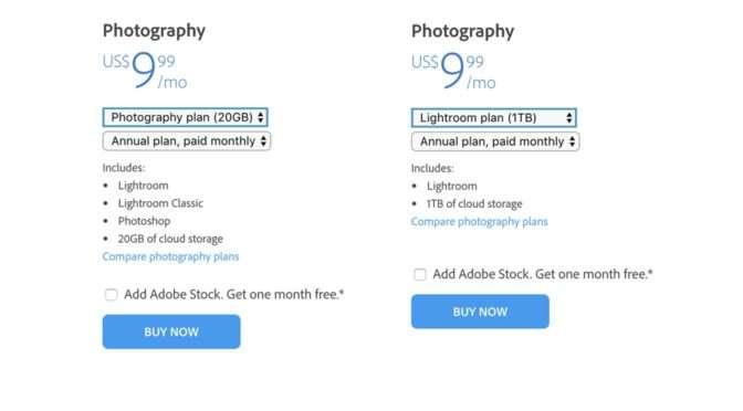 Wat is jouw 'plan' met Adobe: Lightroom Classic of Lightroom?