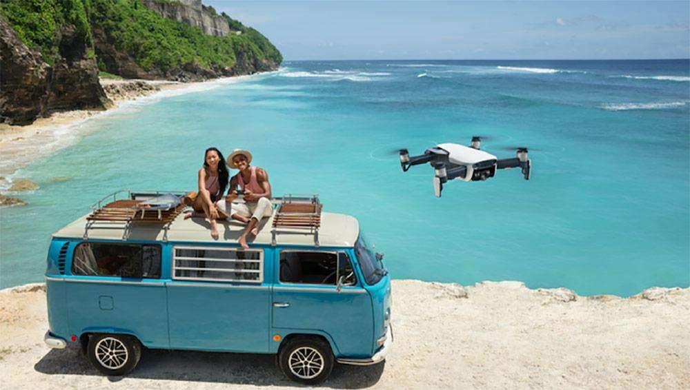 drone mee op vakantie