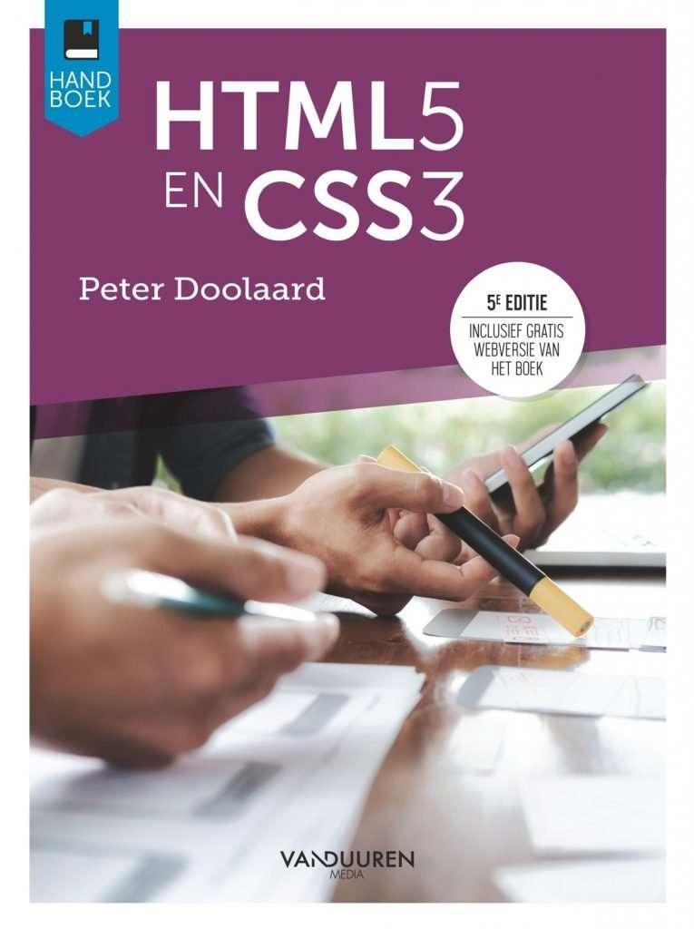 cover boek html css doolaard