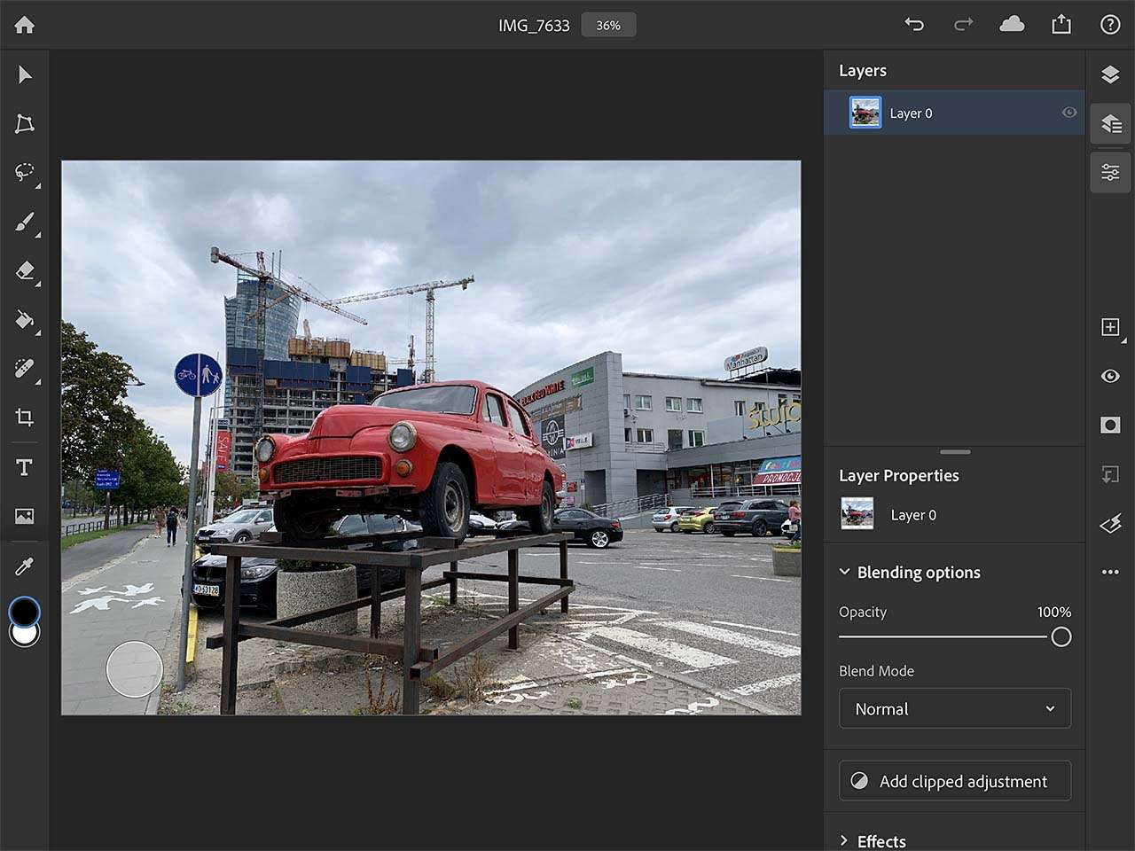 Photoshop voor iOS