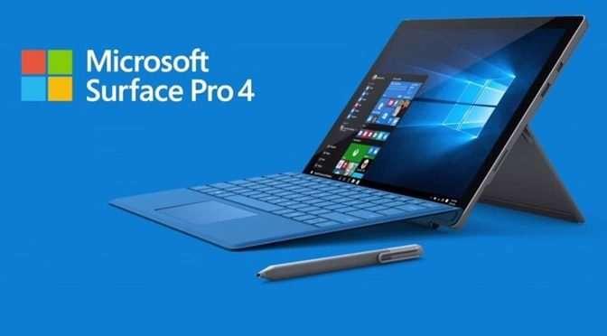 Surface Pro 4 batterij lekt en zet uit