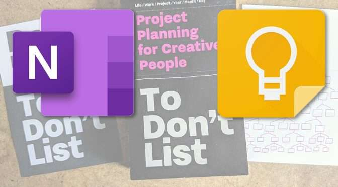 Notities maken met OneNote of Google Keep