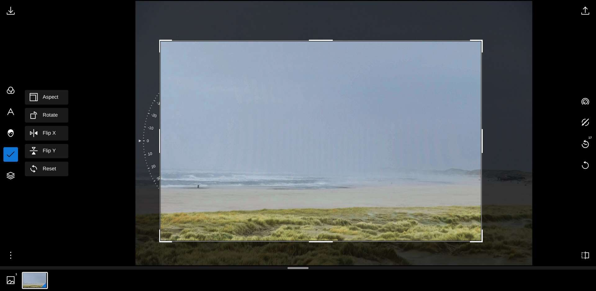 fotobewerking op een Chromebook